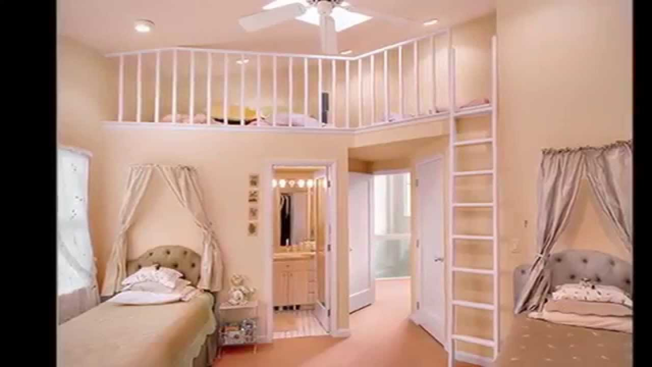 Princess Room Designs !! Kids Room Designs For Girls   Interior Furniture  Cheap Small Spaces   YouTube