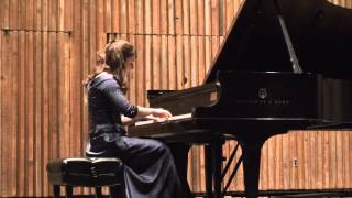 Bartok Romanian Folk Dance No. 1 [Pianist Emily Noatch]