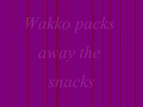 Animaniacs Theme Song Lyrics