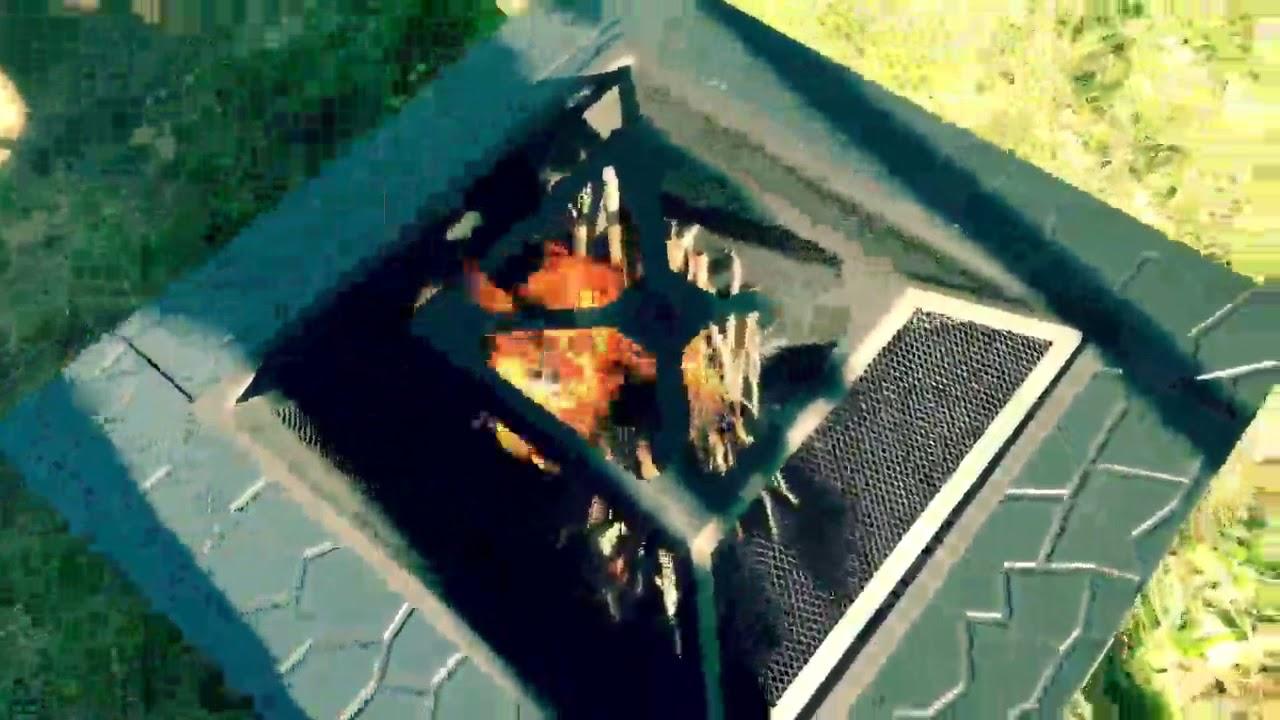 FEMOR Brasero Pour Jardin Terrasses BBQ Brasero Ménager Barbecue, Au Top  Dans Le Jardin
