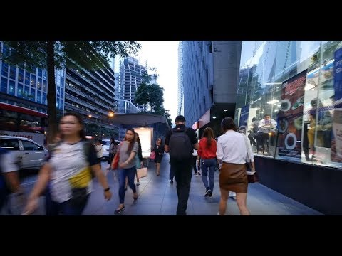 【4K】Rush Hour in Makati City Part 5