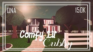 ROBLOX: Bloxburg | Comfy Lil' Cubby - Speed build + QNA and GIVEAWAY!