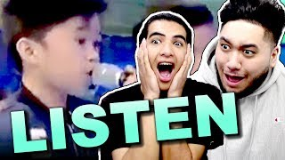 "Tawag Ng Tanghalan Kids Perform ""Listen"" on GGV (Mackie, Francis, and Keifer) MR. WHIPPY REACTION!!!"