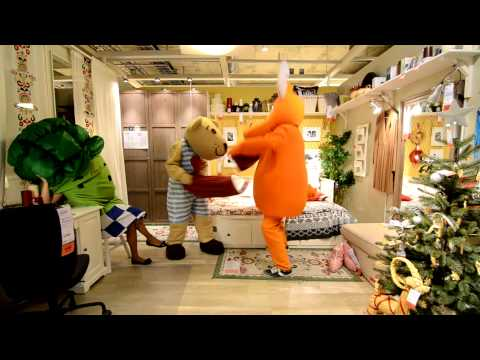 Видео: IKEA-DYBENKO 2013 Russia