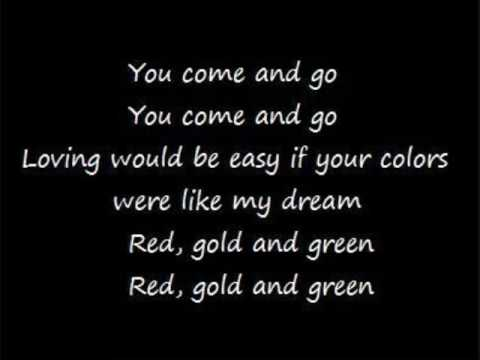 Culture Club - Karma Chamelion(lyrics) - YouTube