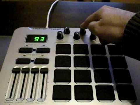 Configurar M-Audio Trigger Finger y Ableton Live para Mashup