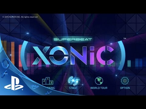 Superbeat: Xonic -- Gameplay Trailer | PS Vita