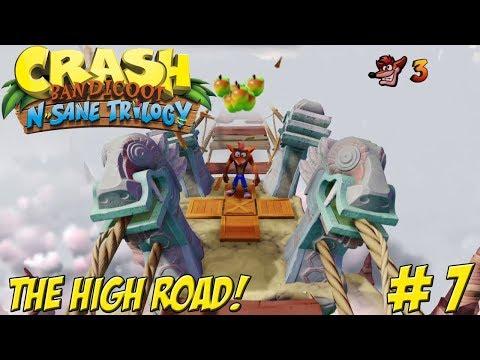 Crash Bandicoot! N-Sane Trilogy: The High Road Part 7 - YoVideogames
