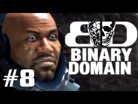 Two Best Friends Play Binary Domain (Part 08)