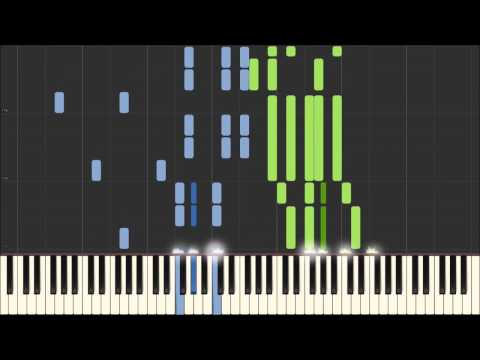 Dmitri Shostakovich - Waltz No. 2 [Piano Tutorial] (Synthesia/Sheet Music)