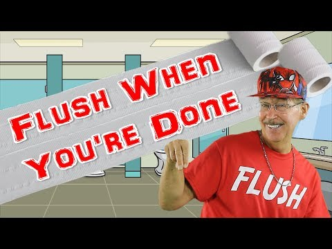 flush-when-you're-done-|-good-bathroom-manners-for-kids-|-jack-hartmann