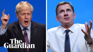 Boris Johnson and Jeremy Hunt take part in leadership hustings – watch live