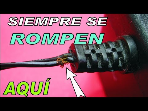 Arreglar cable roto en el peor sitio