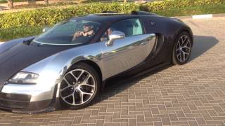 2014 Bugatti Veyron 16:4 !!! Sick Exhaust and super fast! My first test drive!