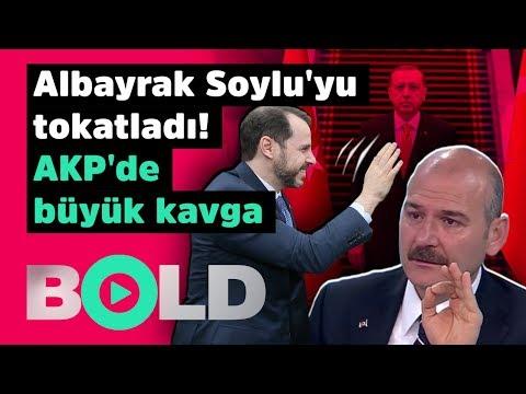Şok! Berat Albayrak Süleyman Soylu'ya tokat attı! AKP'de büyük kavga |