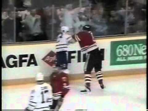 NHL 1994, Game 1 - Chicago Blackhawks vs Toronto Maple Leafs