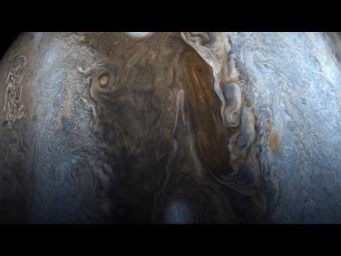Jupiter: Juno Perijove 06