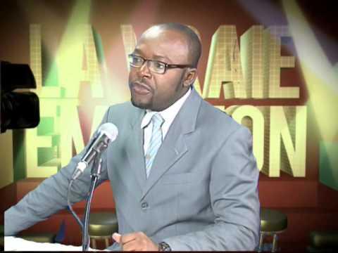 Dr EDMOND CHRISTIAN POUT DANS LA VRAIE EMISSION CHRISTIAN POUT DU 01 11 2013