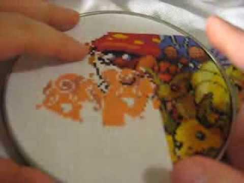 My Cross Stitching Tips Part 1
