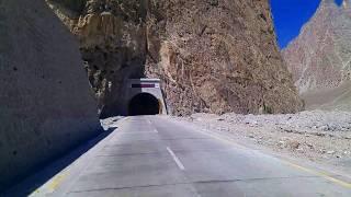 Roads to Khunjerab Tunnels ,  Attabad Lake , Hunza , Gilgit Baltistan , Pakistan