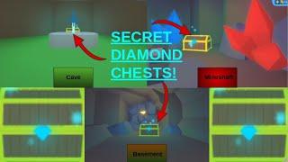 10 Robux Diamonds! Secret Diamond Chests in Roblox High School 2!