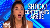 ANGRY and UPSET Contestants ARGUE With Each Other On The X Factor UK | X Factor Global