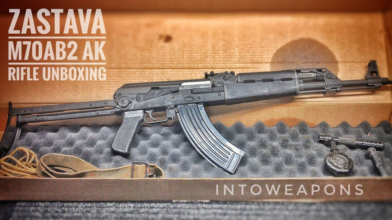 Century M70AB2 AK Rifle: Unboxing & Overview
