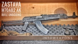 Century M70AB2 AK Rifle (Heavy RPK Style):  Unboxing & Overview
