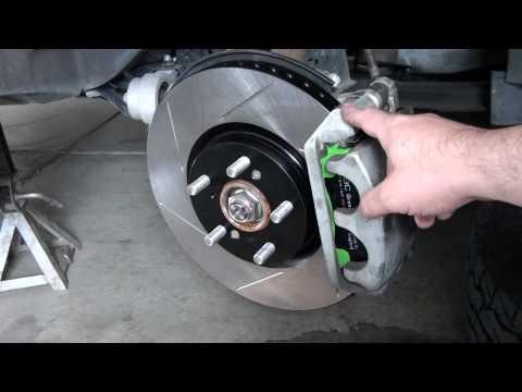 Brake Upgrade Honda Pilot 09 part 2