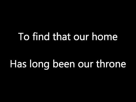 The Killers - Shot At The Night Lyric Video (lyrics on screen)