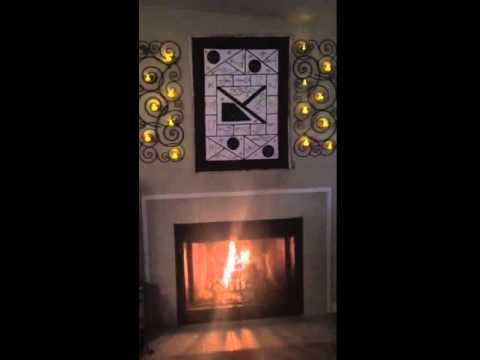 Dominican Republic Art - fireplace