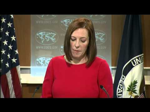 Psaki: Defensive weapons are not lethal. 10 Feb 2015 (Ukraine)