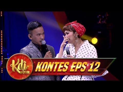 Kocak Banget, Begini Jadinya Master Rina Jadi Zaskia Gotik - Kontes KDI Eps 12 (21/8)