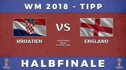 WM 2018 Halbfinale Tipp: Kroatien - England inkl. Wettabgabe