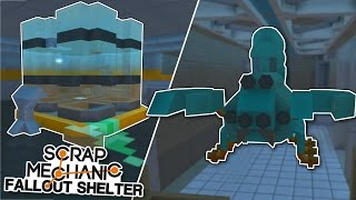 Abandoned Lab & Giant Radscorpion! - Scrap Mechanic Fallout Shelter Project [Ep.13]