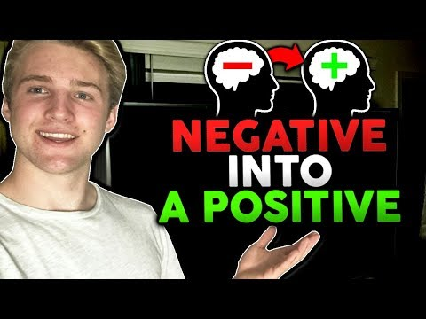 How To Turn A Negative Situation Into A Positive Outcome