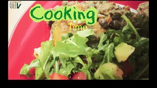 Grtv Cooking Time - Revolution Stewed Peas With Sweet Potatoes And An Avocado Salad (ct1 E009)