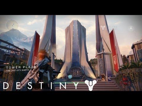 Destiny - alpha ver. - HUB (Tower) ... ZagraniE