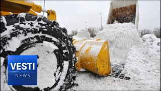 Ice Storm Hits All of Russia, Spreads to Europe - Arctic Cyclone Slows Down Entire Continent