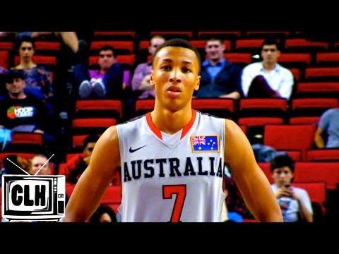 Dante Exum 2014 Nba Draft 2013 Hoop Summit Highlights 6 6 Australian Guard