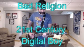Bad Religion - 21st Century Digital Boy (Guitar Tab + Cover)