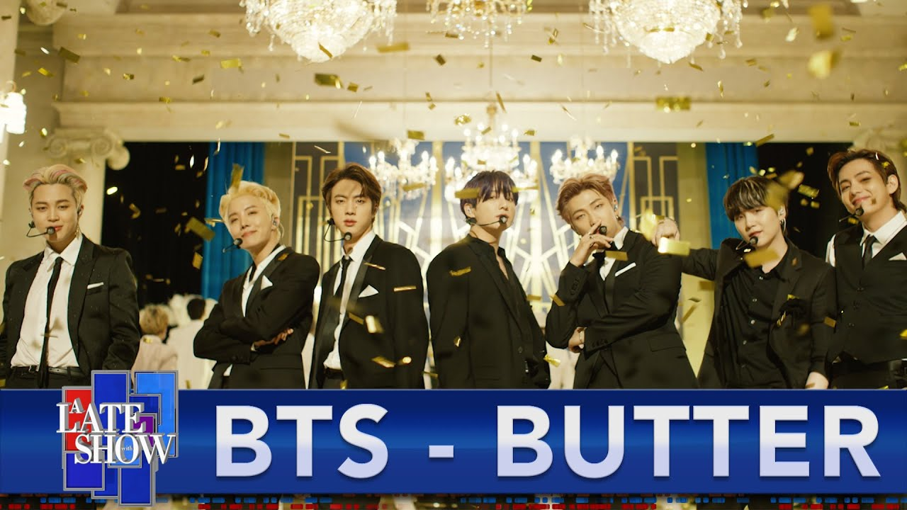 """Download BTS """"Butter"""" - The Late Show with Stephen Colbert"""