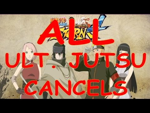 STORM 4 - ALL UJ Cancels (S3 Style Ninja Move Ougi Cancels)