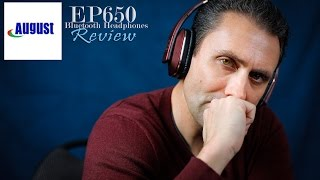 August EP650 Bluetooth Headphones Review + Giveaway