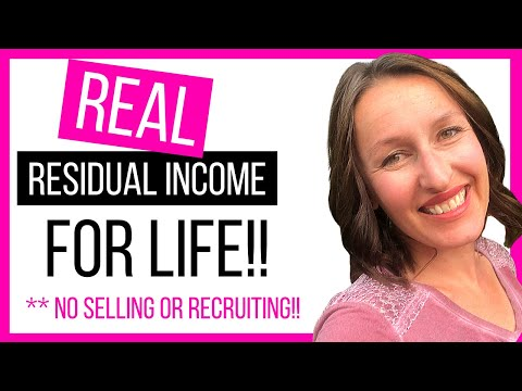 Real residual income for life - Day 68 - Passive Income with no recruiting or selling!!!!