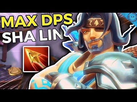 MAX DPS SHA LIN! THIS CHAMPION IS A BEAST! Recurve Sha Lin Gameplay (Paladins 1.6)