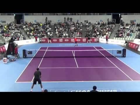 Goran Ivanisevic vs  Marat Safin 3set Kia Motors Champions Cup Tennis 2015 third place match