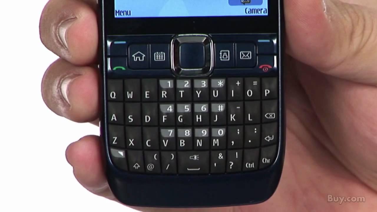 Nokia E63 Blue Nokia E63 Unlocked GSM Cell