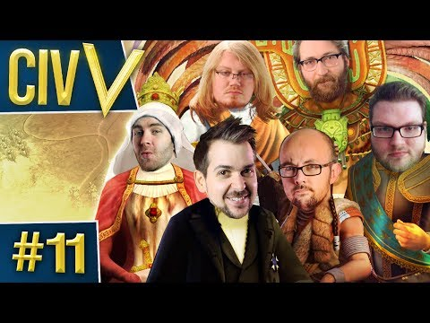 Civ V: Retro Rumble #11 - Blinded Me With Magic