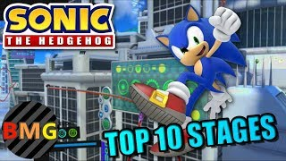Top 10 Stages in Modern Sonic Games!